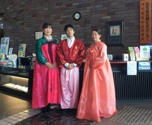 韓国文化に触れる